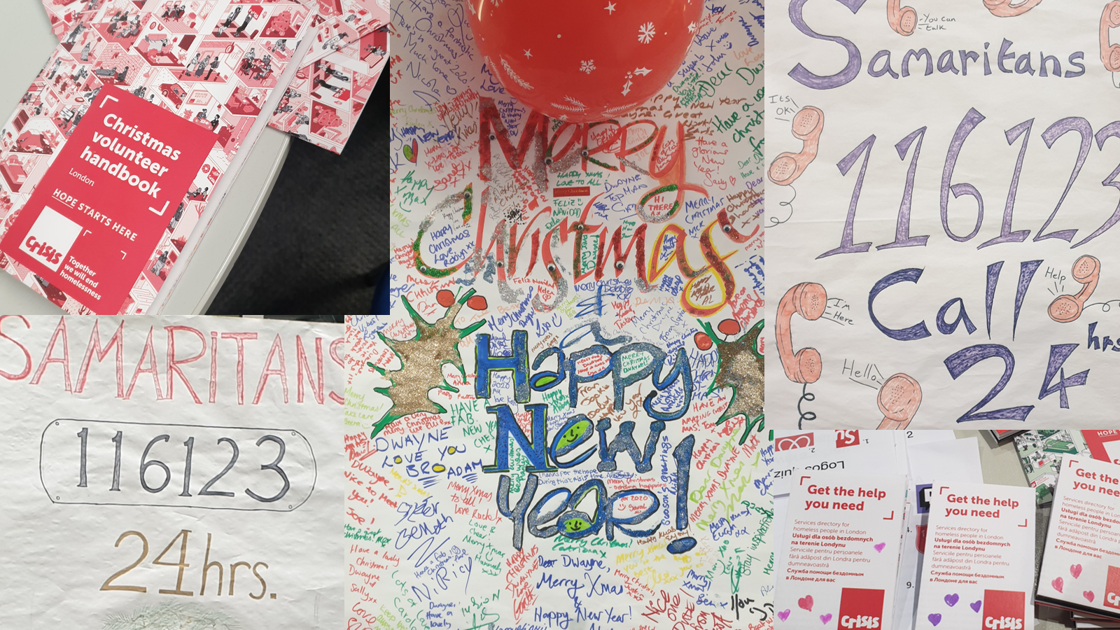Crisis and Samaritan for Christmas 2019